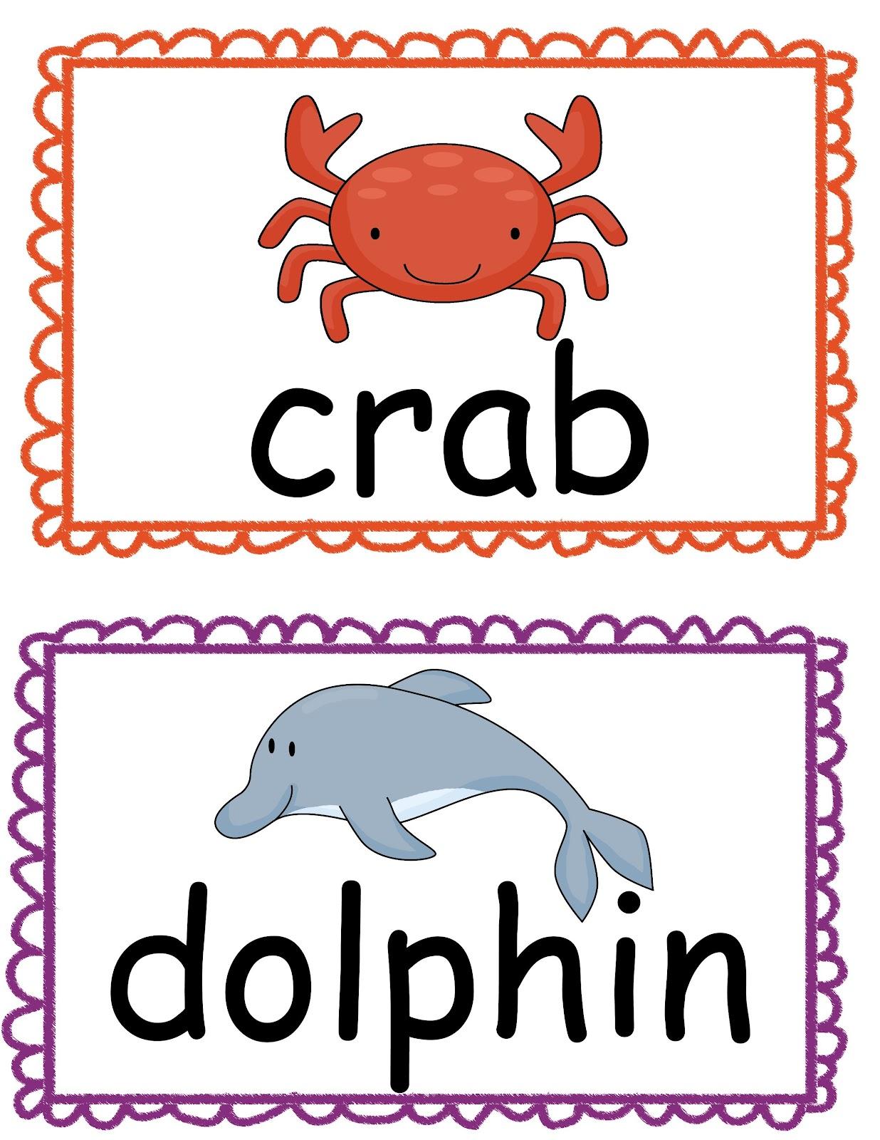 The Crazy Pre K Classroom Ocean Theme Read The Room Freebie
