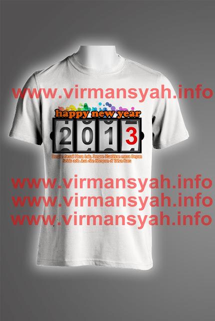 Pre Order T-Shirt Tahun 2013