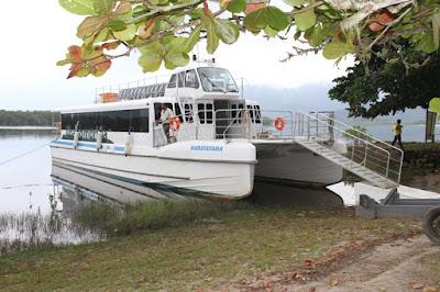 Catamarã fará passeio ao Marujá no sábado 31/03