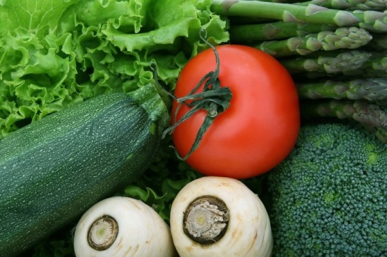 fresh vegetables to help lower the risk of diabetes