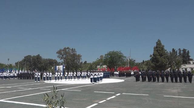 تخرج دفعة جديدة من 419 عون شرطة جويلية 2017