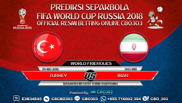Prediksi Bola Turkey VS Iran 29 Mei 2018