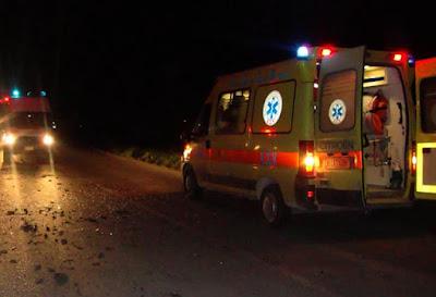 Νεκρή 31χρονη σε τροχαίο, τα ξημερώματα - Σοβαρά τραυματισμένα άλλα δυο άτομα