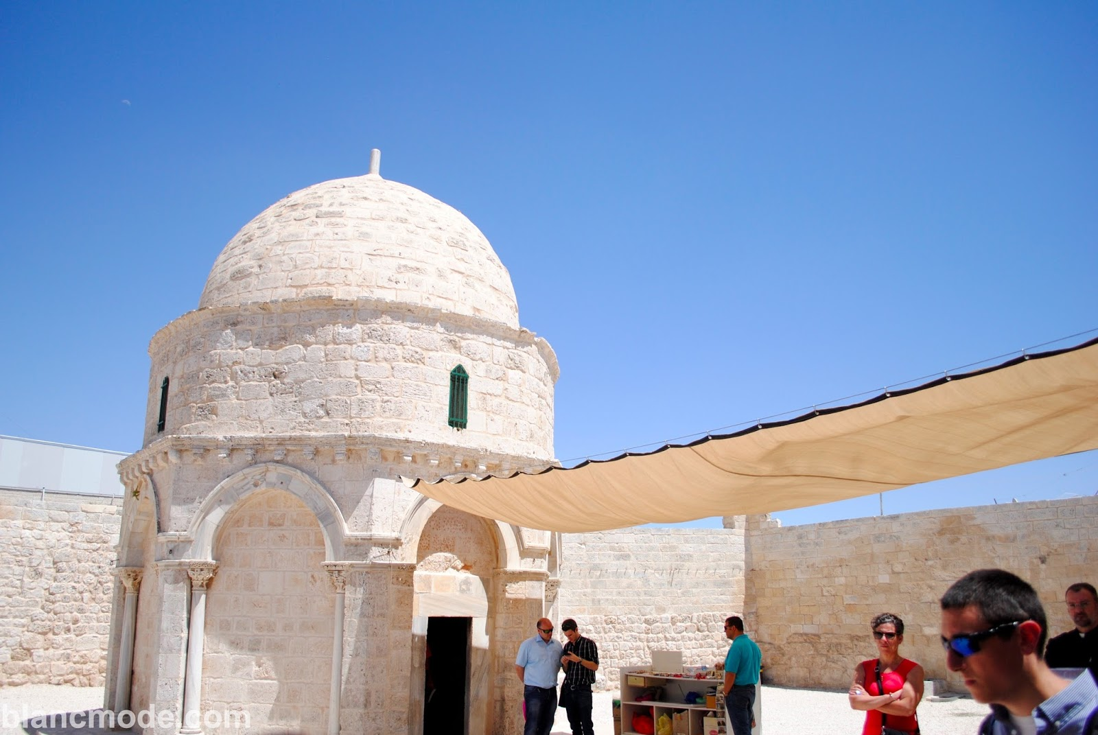 chapel of the ascension at mount of olives