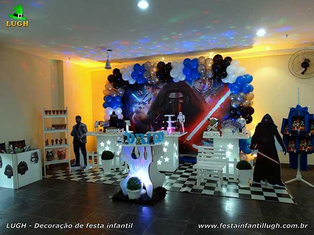 Decoração mesa de aniversário Star Wars para festa infantil masculina - Barra-RJ