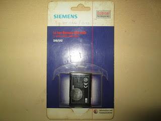 baterai hape Siemens S40/S42 original