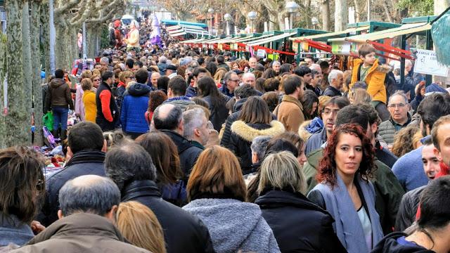 Feria agrícola de las fiestas de San Vicente