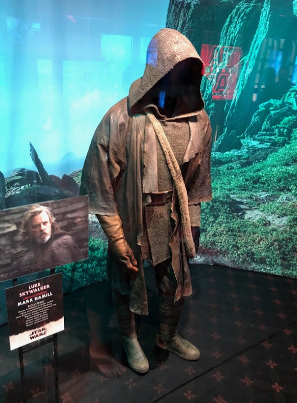 Star Wars Last Jedi Luke Skywalker costume