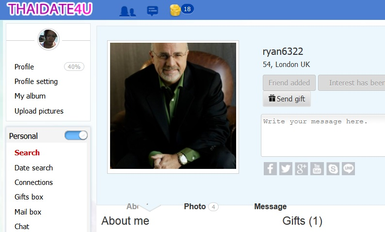 the perfect online dating profile