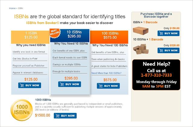 Pengurusan ISBN di Amerika Serikat