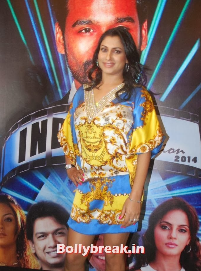 , Malavika at India Sensation 2014 Press Meet