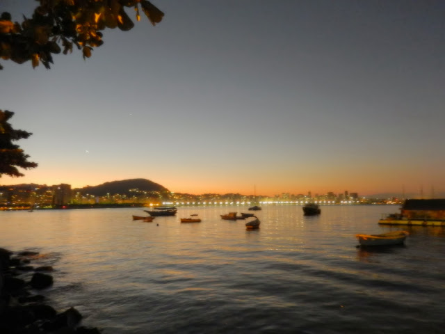 Vista da mureta do Bar e Restaurante Urca