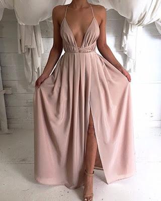 vestido color pastel rosado invitada boda