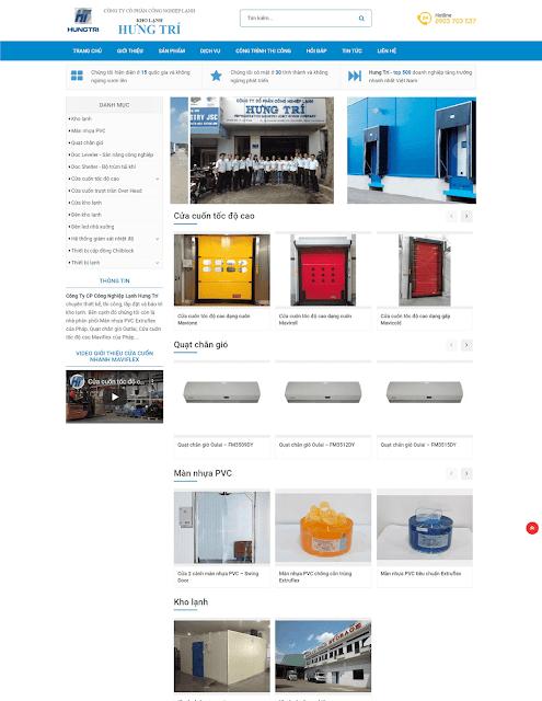 Template blogspot dành cho công ty bán sản phẩm - Giaodienblog.com