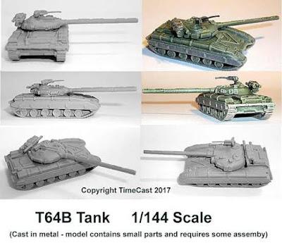 TimeCast T64B tank