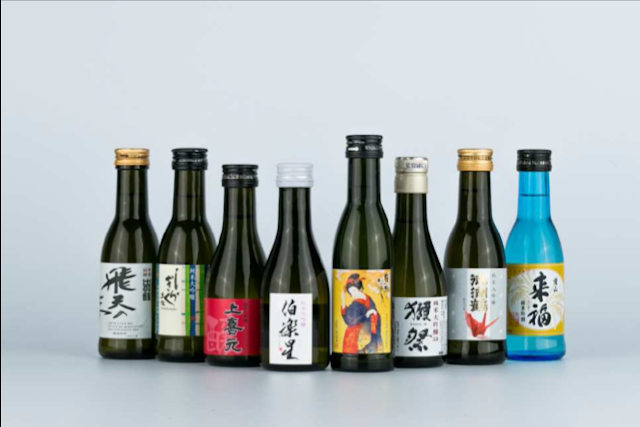JAL new sake lineup for international Business Class