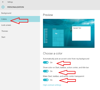 Learn New Things: How to Change Color in Windows 10 (Start ...