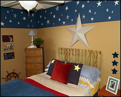 Decorating theme bedrooms - Maries Manor: patriotic stars and ...