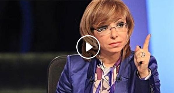 التعدي علي لميس الحديدي بالضرب والسبب ..!!