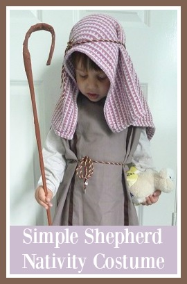 Jennifers little world blog parenting craft and travel how to shepherds costume from a pillowcase for nativity play solutioingenieria