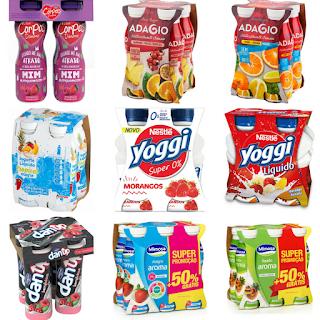 Lista de iogurtes líquidos