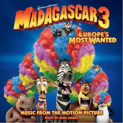 Madagascar 3 Canciones - Madagascar 3 Música - Madagascar 3 Banda sonora - Madagascar 3 Soundtrack
