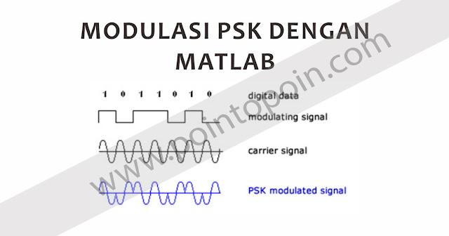 Modulasi PSK Dengan MATLAB
