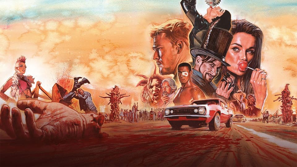 Blood Drive, Кровавая гонка, Horror, SciFi, Trash, Grindhouse, TVSeries, Review, ужасы, хоррор, фантастика, трэш, грайндхаус, сериал, обзор, рецензия