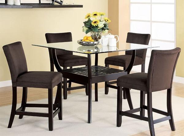 Desain Meja dan Kursi Makan Berukuran Tinggi