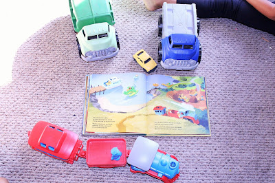 green toys trucks