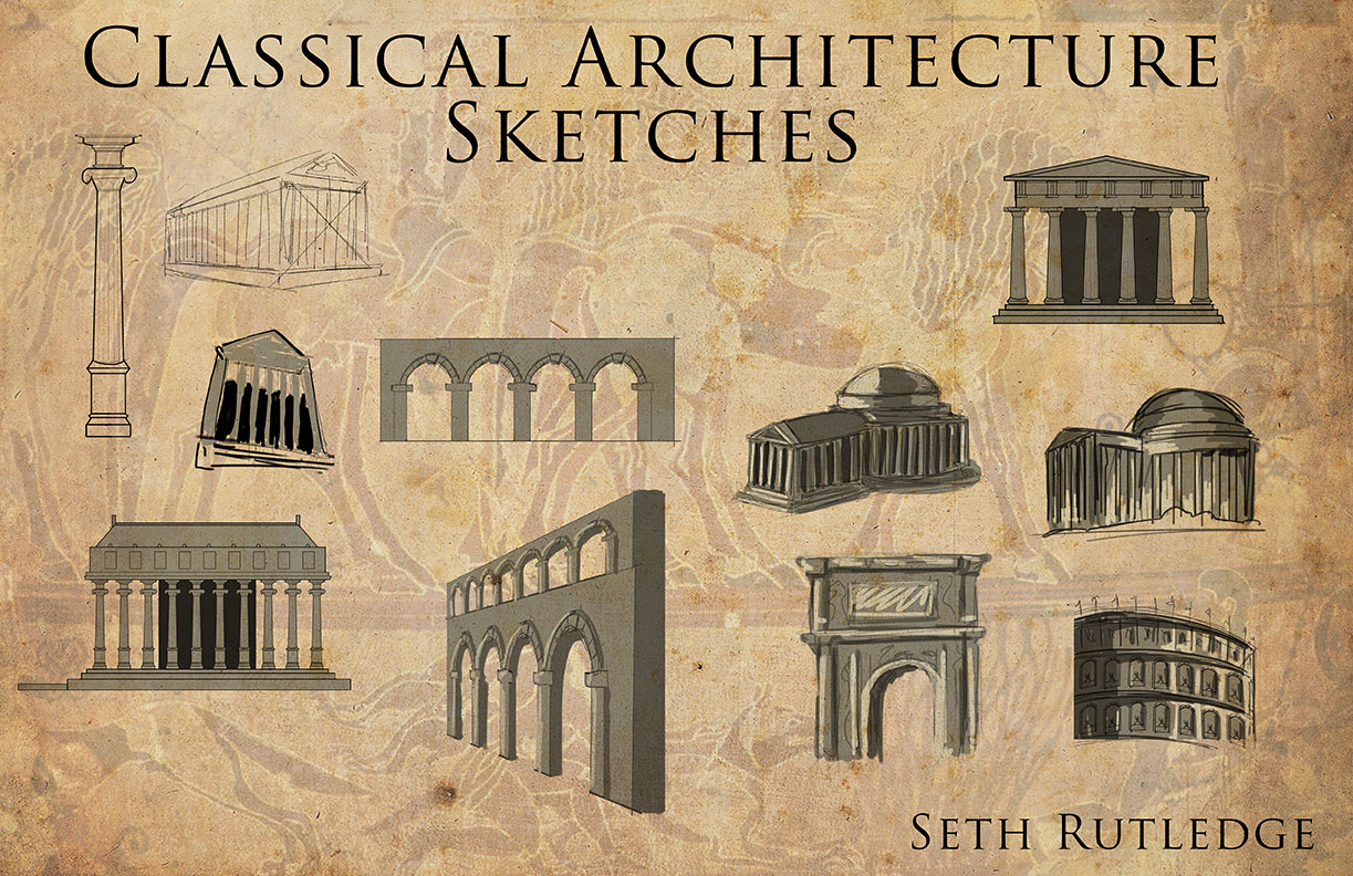 My Journey Classical Architecture Sketches