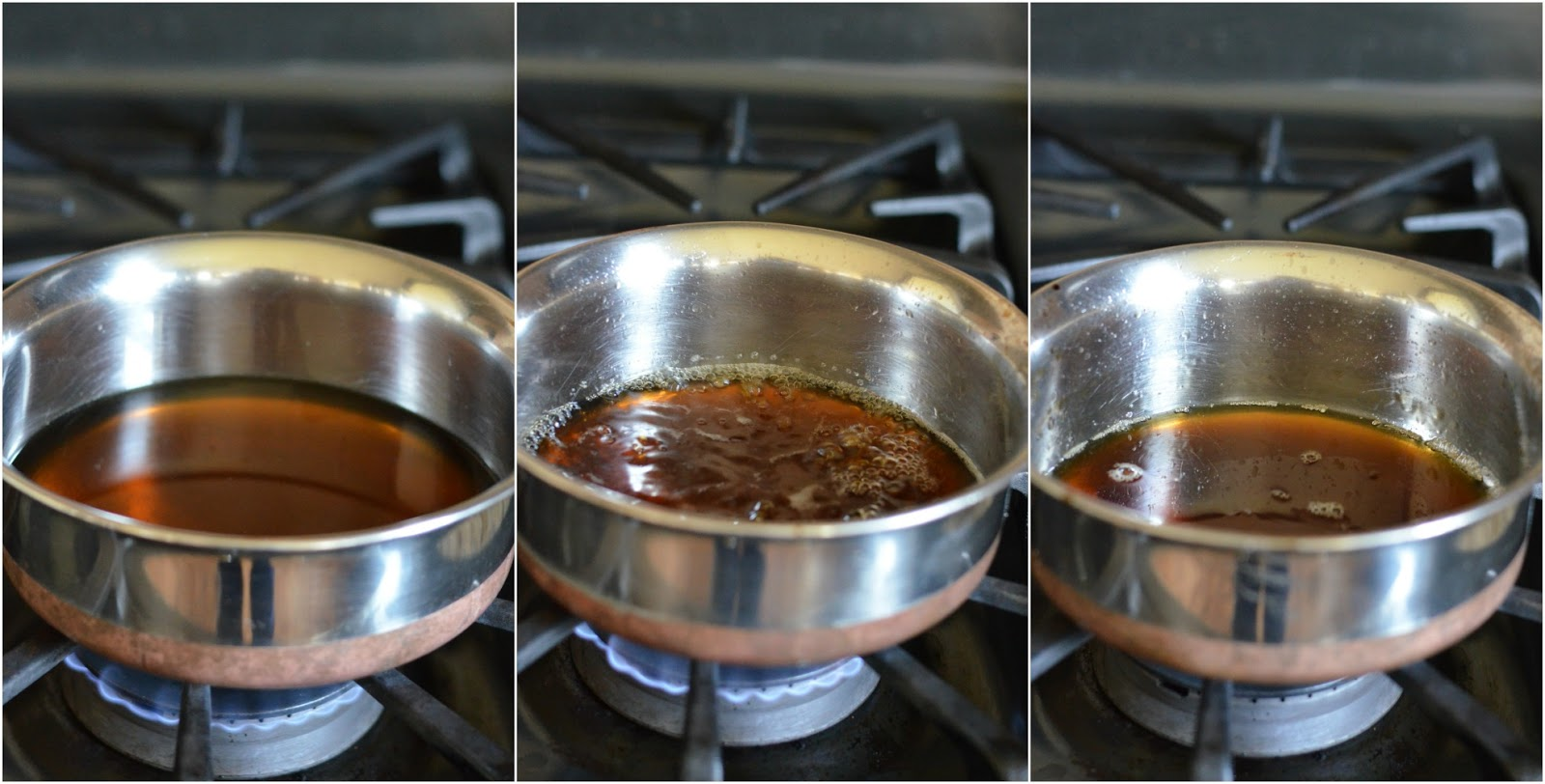Add Liquid To Food Residue To Make Sauce