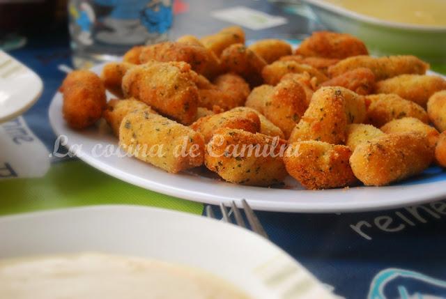 Croquetas de merluza (La cocina de Camilni)