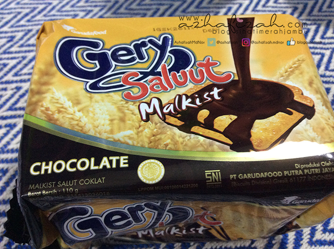 Biskut Gery Saluut Malkist Chocolate