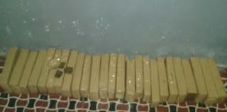 No Seridó, polícia tentar localizar moto roubada a apreende 25 tabletes de drogas
