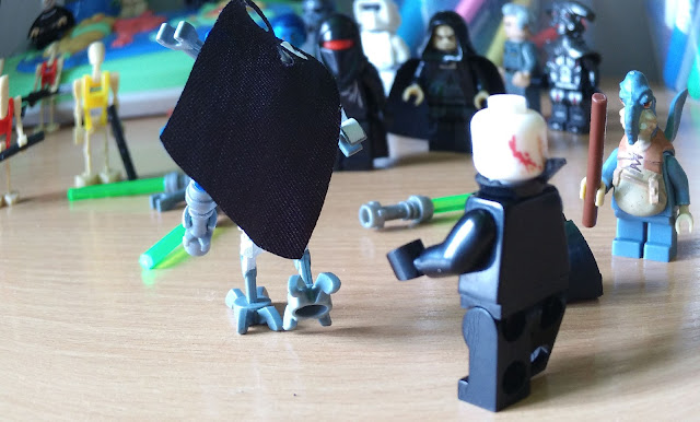 Darth Vader VS General Grievous, comics lego Star Wars