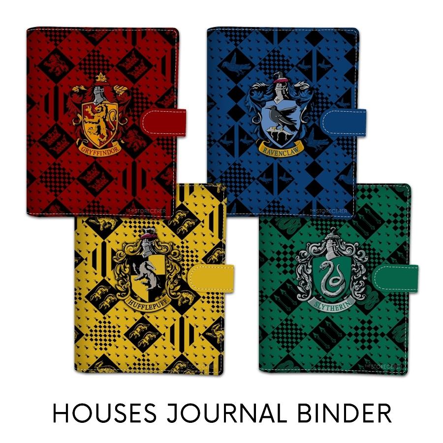 binder jurnal asrama hogwarts