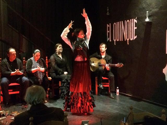 Apresentação de Flamenco em Ronda, na Andaluzia, região sul da Espanha.