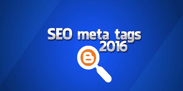 Meta Tag Seo untuk Blogger 2016 Lengkap