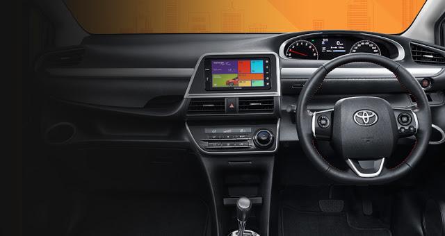 Desain Interior Toyota Sienta