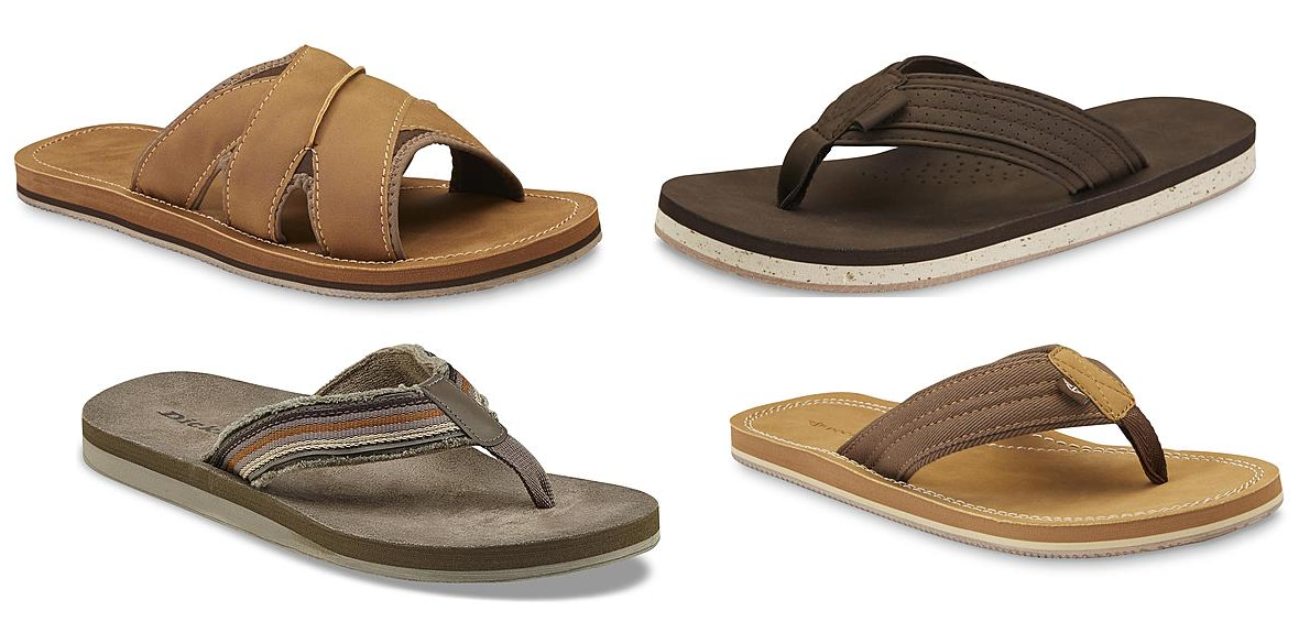 48a9369e83c 3 Pairs of Dickies or Dockers Men s Flip-Flops  20 + Free Store Pickup at  Sears or Free Shipping With Shop Your Way Max (Free Trial Here). or get 6  Pairs ...