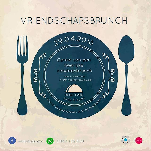 Geniet samen met je vrienden van een heerlijke brunch op zondag 29 april.