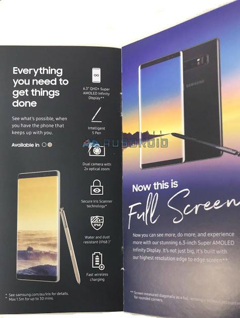 تسريبات: الكشف عن تفاصيل إضافية حول كاميرا هاتف Galaxy Note 8