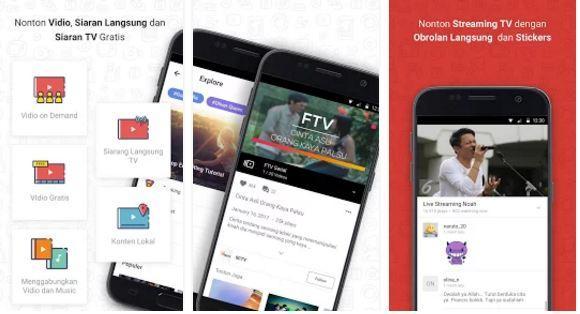 aplikasi tv gratis