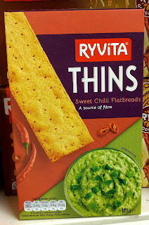 Ryvita Thins Sweet Chilli Flatbreads