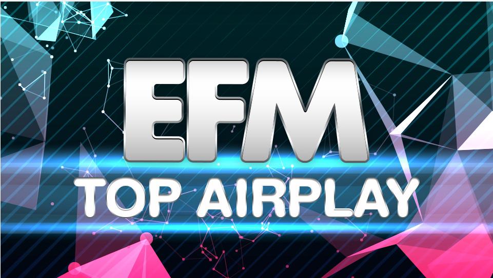 Download [Mp3]-[Chart] EFM Top AirPlay 100 เพลง ที่ถูกเปิดมากที่สุดบนหน้าปัดวิทยุในประเทศไทย ประจำวันที่ 14 กรกฎาคม 2561 4shared By Pleng-mun.com