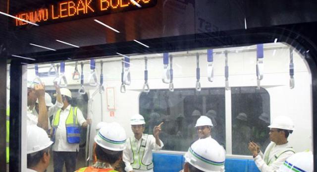 Menhub: Pembangunan MRT Fase Dua Dimulai Akhir 2018
