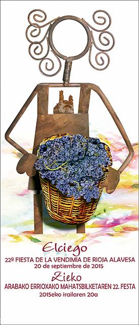 Fiesta de la vendimia de rioja alavesa. Elciego