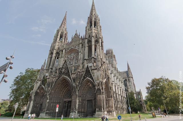 Iglesia Abacial de Saint-Ouen visita Ruan Rouen Normandia Francia