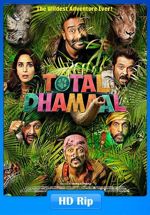 Total Dhamaal 2019 Hindi 720p HDRip x264 | 480p 300MB | 100MB HEVC